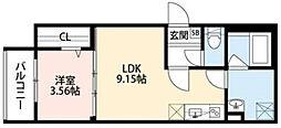 Casa di lapin[1階]の間取り