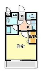 大阪府交野市星田1丁目の賃貸アパートの間取り