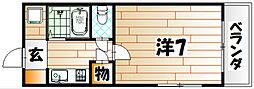 VIVA前田[2階]の間取り