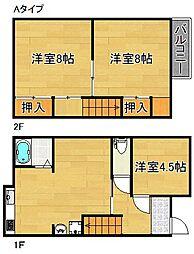 [一戸建] 大阪府泉佐野市笠松2丁目 の賃貸【/】の間取り