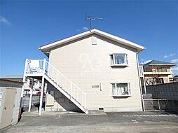 兵庫県三木市志染町広野1丁目の賃貸アパートの外観