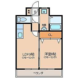 GARAGEIII[1階]の間取り