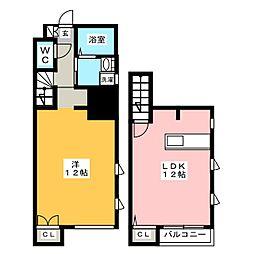スローライフ箱崎[1階]の間取り