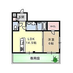 THマンション[3階]の間取り