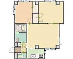 N-3壱番館[2階]の間取り