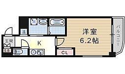 BIOS NISHIKUJO[2階]の間取り