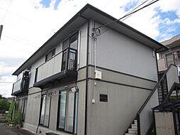 東京都昭島市福島町1丁目の賃貸アパートの外観