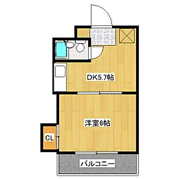 シェモアエスポワール[3階]の間取り