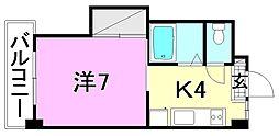 ミラハイツ枝松[108 号室号室]の間取り