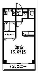 アズーリII[203号室]の間取り