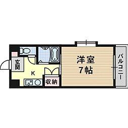 エンジェリ寿[4階]の間取り