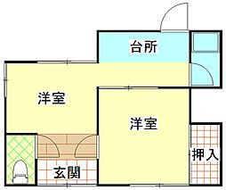 [一戸建] 静岡県富士市中柏原新田 の賃貸【静岡県 / 富士市】の間取り