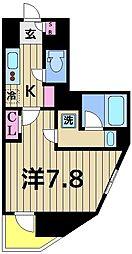 スプレスター綾瀬[7階]の間取り