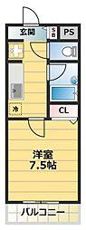 カデンツァK[2階]の間取り