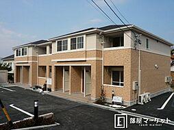 愛知県岡崎市稲熊町字6丁目の賃貸アパートの外観