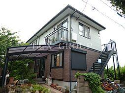 東京都国分寺市富士本2丁目の賃貸アパートの外観