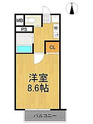 上北マンション[2階]の間取り