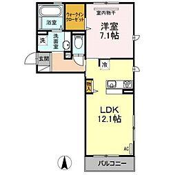 D-room AZD[2階]の間取り
