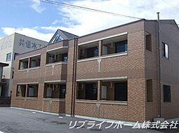 エクセルコート南島田[2階]の外観