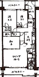 「サンクタス賀茂川」[2階]の間取り