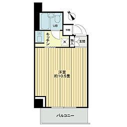 ライオンズマンション神戸西元町[5階]の間取り