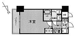 リーガル京都河原町五条[507号室号室]の間取り