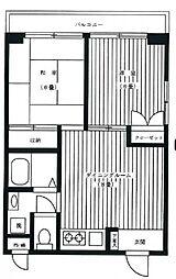 セントヒルズ808[8階]の間取り