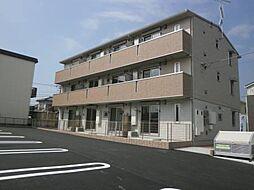 千葉県木更津市清見台2の賃貸アパートの外観
