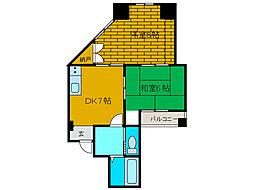 マーブルパレス[2階]の間取り