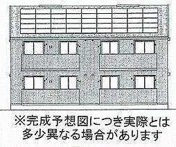 (仮)D-room田中A棟[2階]の外観