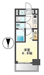 プレサンス栄ブリオ[7階]の間取り