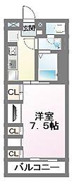 千葉県船橋市薬円台1丁目の賃貸アパートの間取り