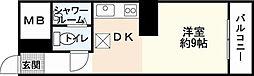 京急西広島マンション[0212号室]の間取り