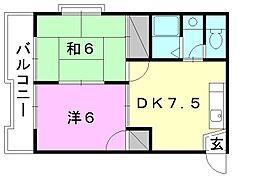 SAKURA HOUSE[305 号室号室]の間取り