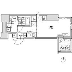 グランディオール広尾テラス[9階]の間取り