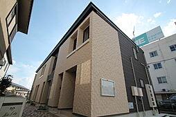 広島県廿日市市地御前2丁目の賃貸アパートの外観