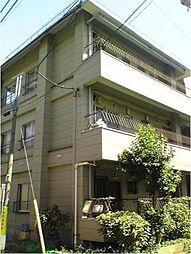 東京都目黒区緑が丘3丁目の賃貸マンションの外観