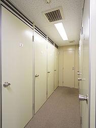 トランクルームが使用できます(無償)