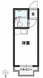 JPアパートメント旭[3階]の間取り