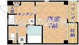プライムコート清水[3階]の間取り