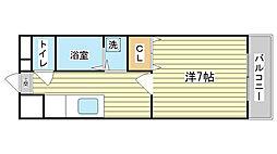 永田第2ビル[303号室]の間取り