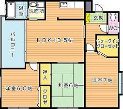 J5 Stage1(特定優良賃貸)[4階]の間取り
