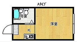 大阪府大阪市住之江区南加賀屋4丁目の賃貸マンションの間取り