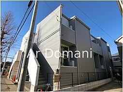 千葉県松戸市南花島2の賃貸アパートの外観