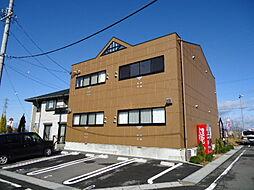 岐阜県美濃加茂市中部台7丁目の賃貸アパートの外観