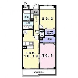Residence MAT[302号室号室]の間取り