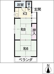 昭和荘[2階]の間取り