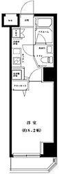 東京都台東区竜泉1丁目の賃貸マンションの間取り