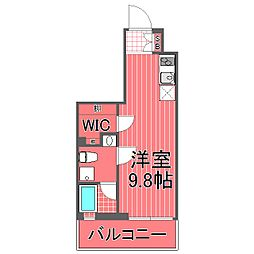 スパシエソリデ横浜鶴見[5階]の間取り