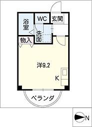 マンションアベニュー[3階]の間取り